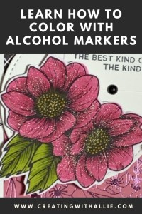 Coloring with Alcohol Markers