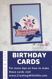 Learn how you can make cards using the same sketch