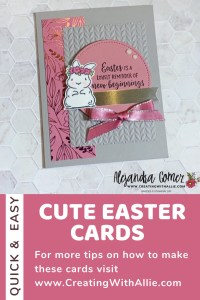 Three Cute Easter Card Ideas with the Springtime Joy Stamp set from Stampin' Up!