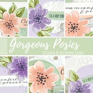 Gorgeous Posies card class to go