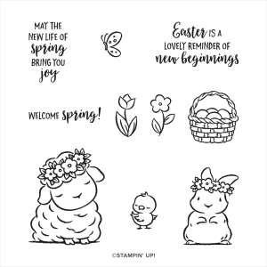 Springtime Joy Stamp set from Stampin' Up!