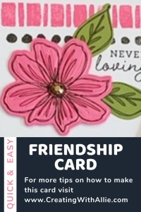 Learn how to make easy cards when using the Art in Bloom bundle.