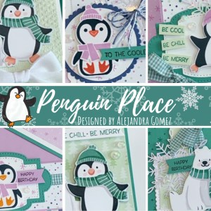 Learn how to make 6 cute handmade card using the Penguin Place Bundle with the Penguin Playmates designer series paper. Four cards in this card class are fun folds!