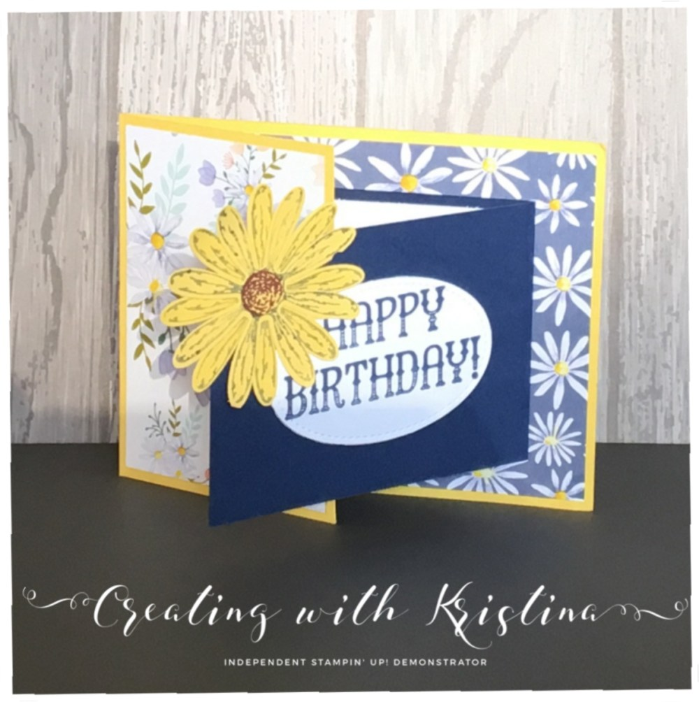 Daisy Delight Birthday Card