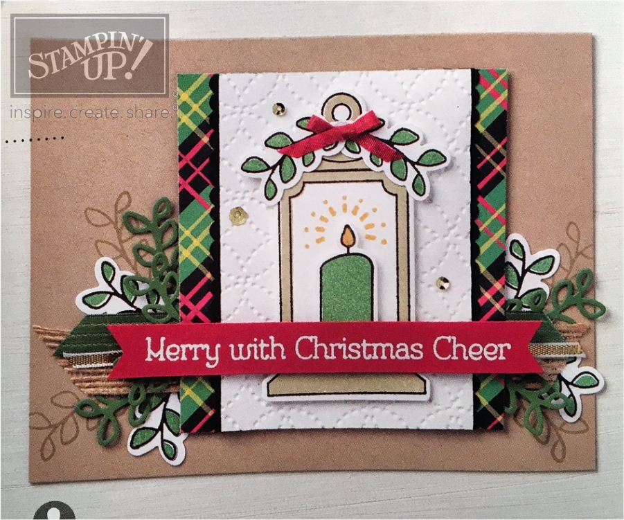 Seasonal Lantern Card Avid Crafter