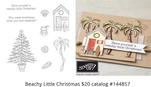 Beachy Little Christmas Stamp Set