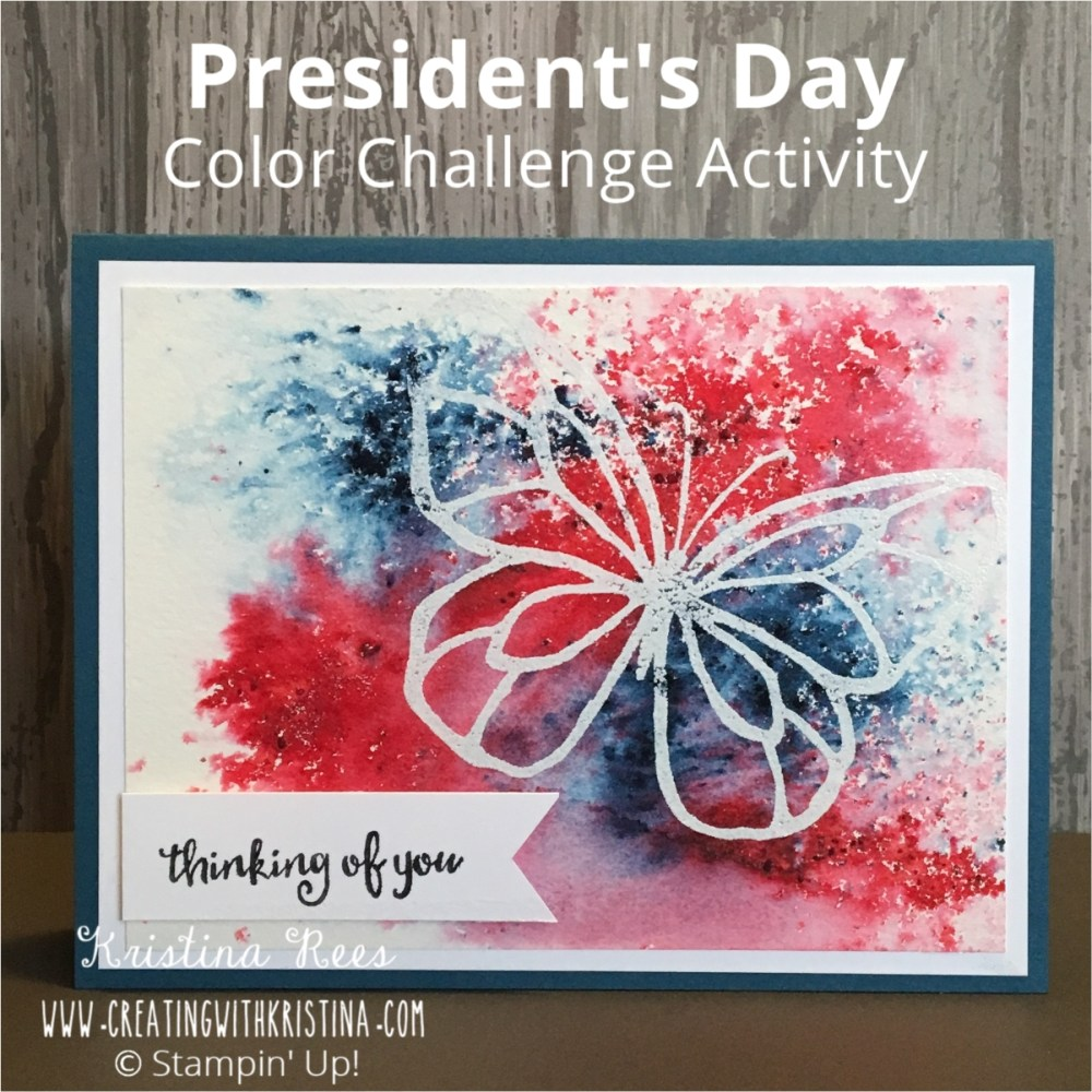 President's Day Color Challenge Activity