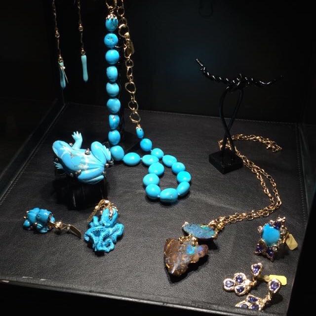 Turquoise jewelry by Lucifer Vir Honestus.