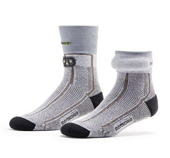 Wearable Sensoria Fitness Smart Socks monitor your run