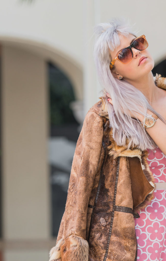 Cognac and Pink Outfit   Creation Despite