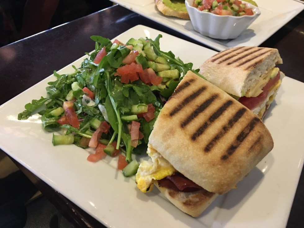 Leo and Lily's Breakfast Sandwich - San Fernando Valley Blogger