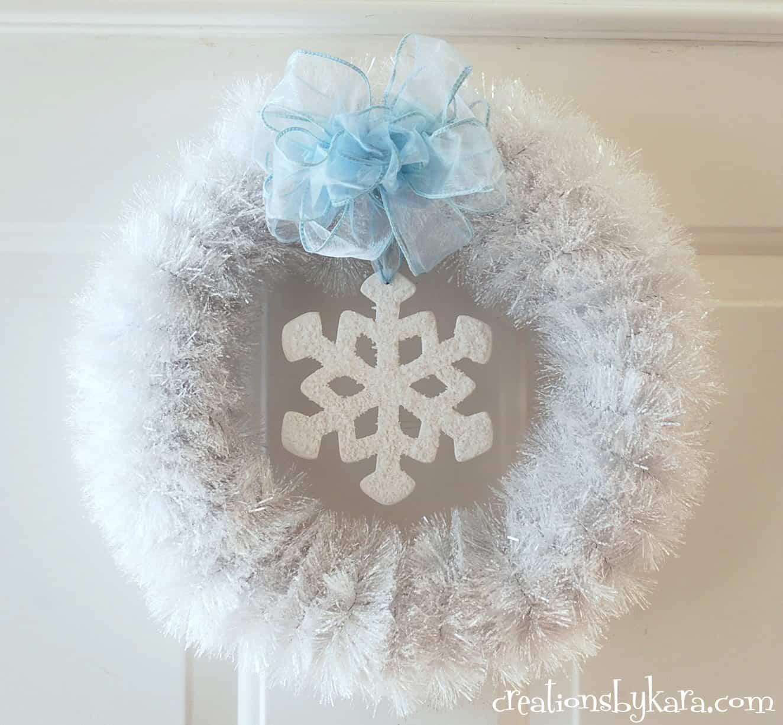 Winter Decor Ideas Linky Party Creations By Kara