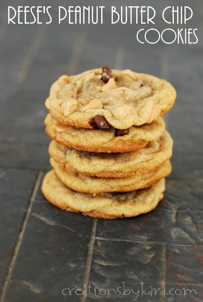 Reeses Peanut Butter Chip Cookies