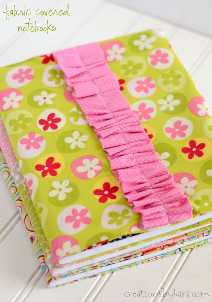 Fabric Composition Notebook Cover Tutorial