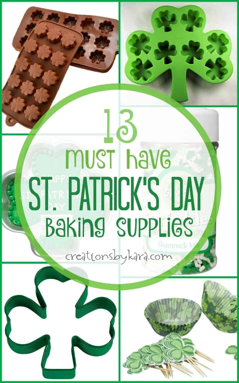 Fun St Patricks Day Baking And Party Supplies Creations
