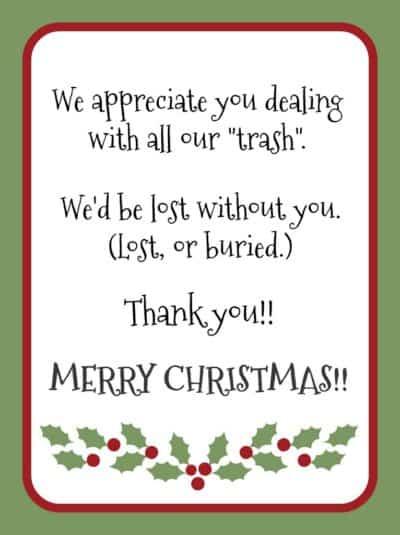 Free Printable Gratitude Christmas Gift Tags Light The