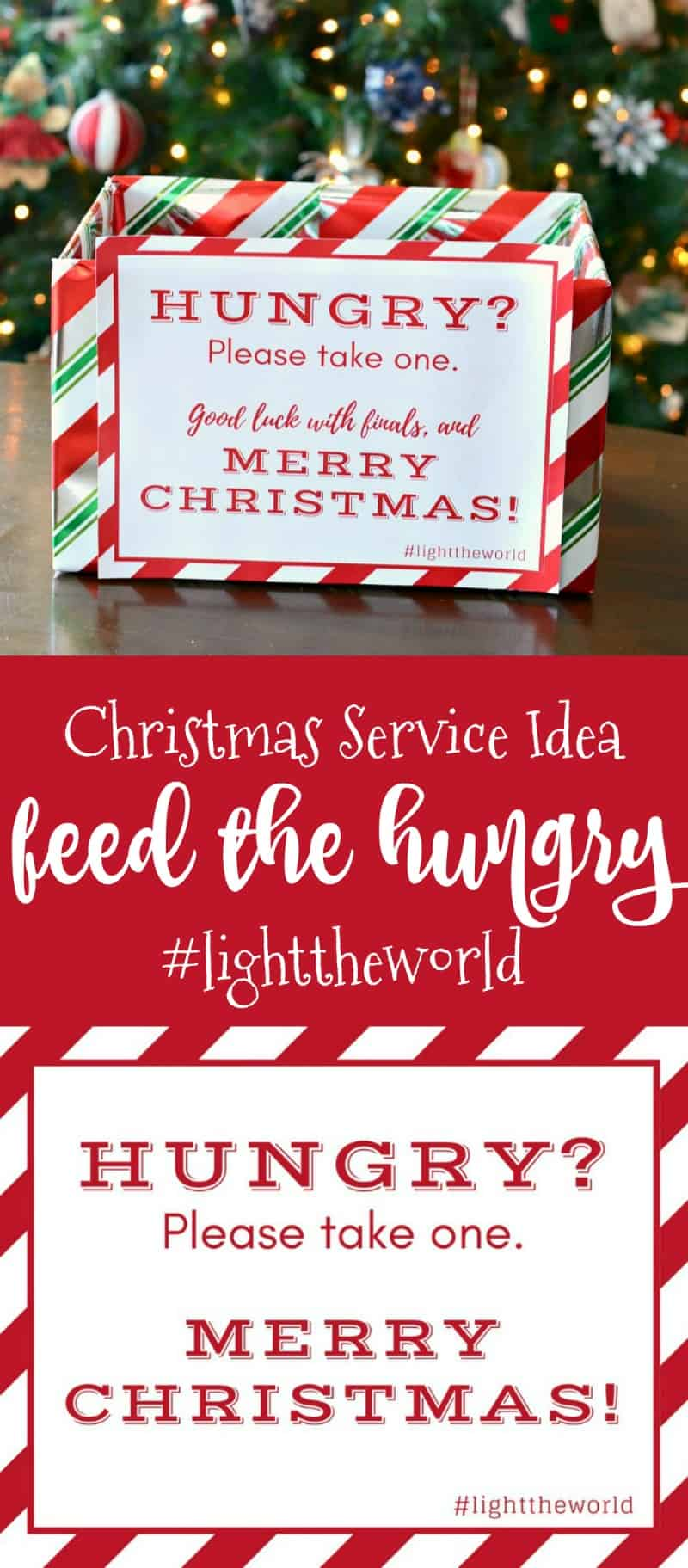 Light The World Feed The Hungry Basket Creations By Kara
