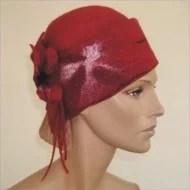 Chapeau feutre «Mistinguett»