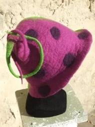 chapeau feutre «Colchique»