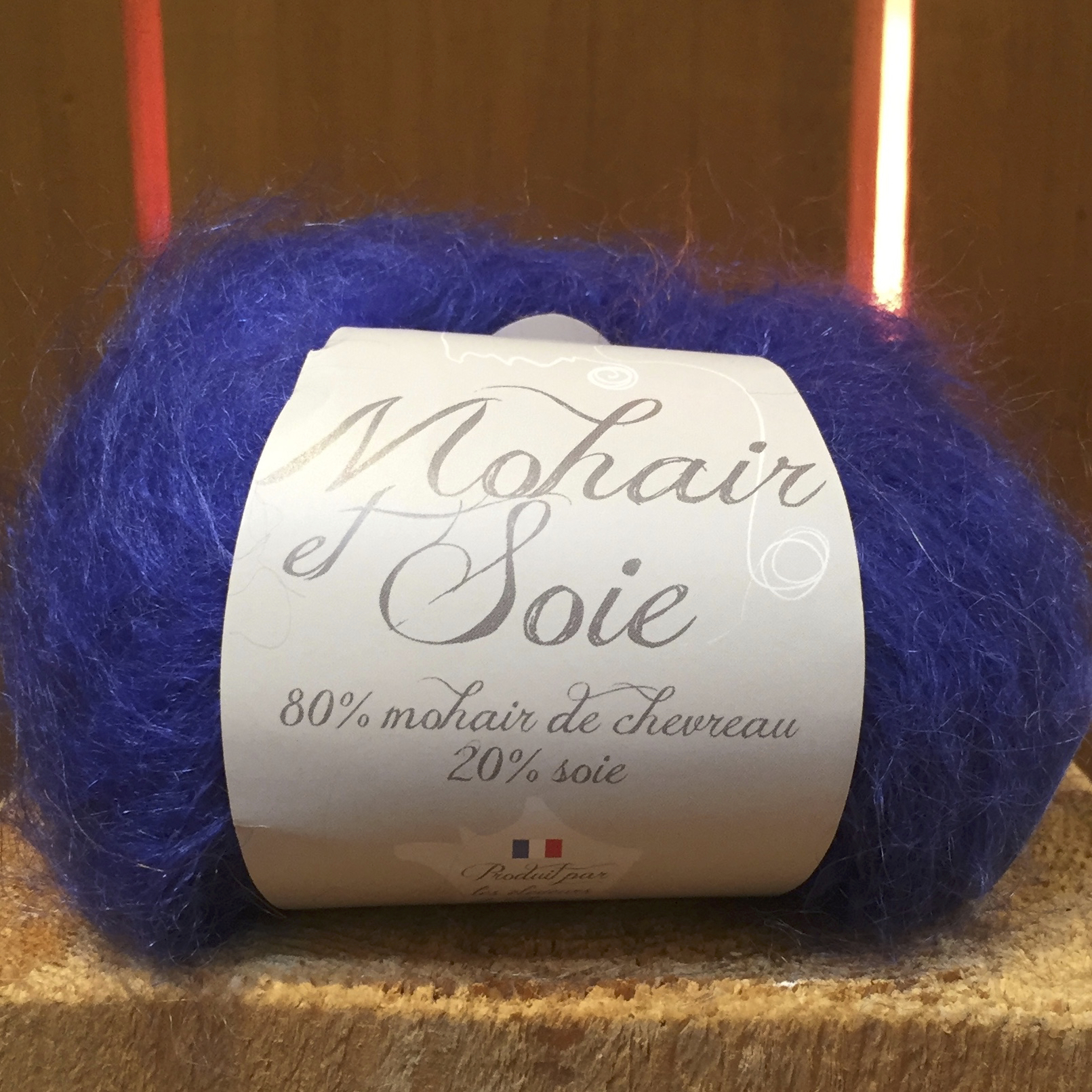 Pelote mohair et soie « Diva » Outremer