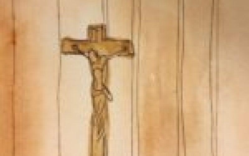 retreat crucifix