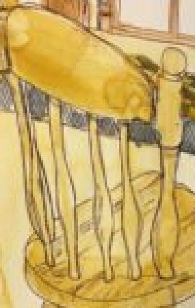 retreat wooden chair