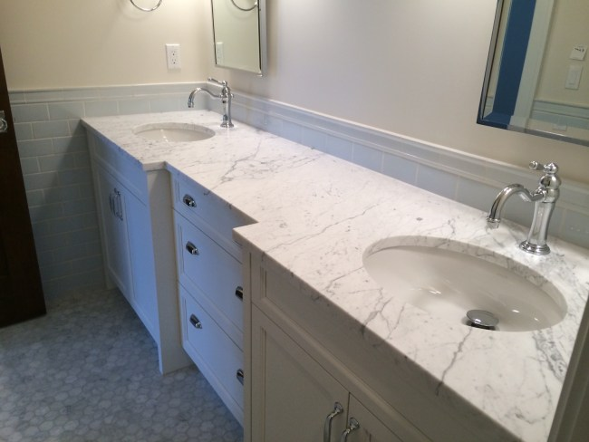 Marble countertops, slabs, fabrication and installation in Denver, Colorado.