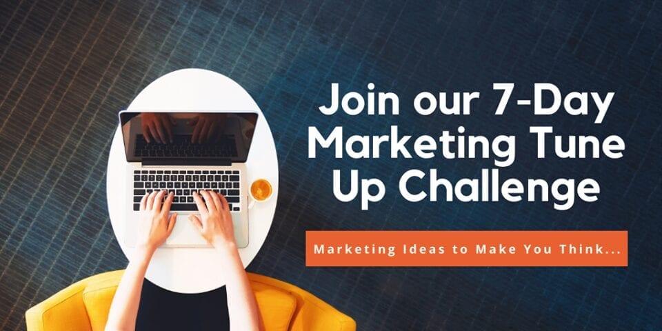 January 2021 - 7-Day Marketing Tune Up Challenge, Creationz Marketing, Nottingham