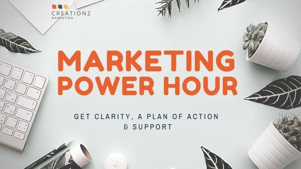 Marketing Power Hour from Creationz Marketing, Nottingham, East Midlands