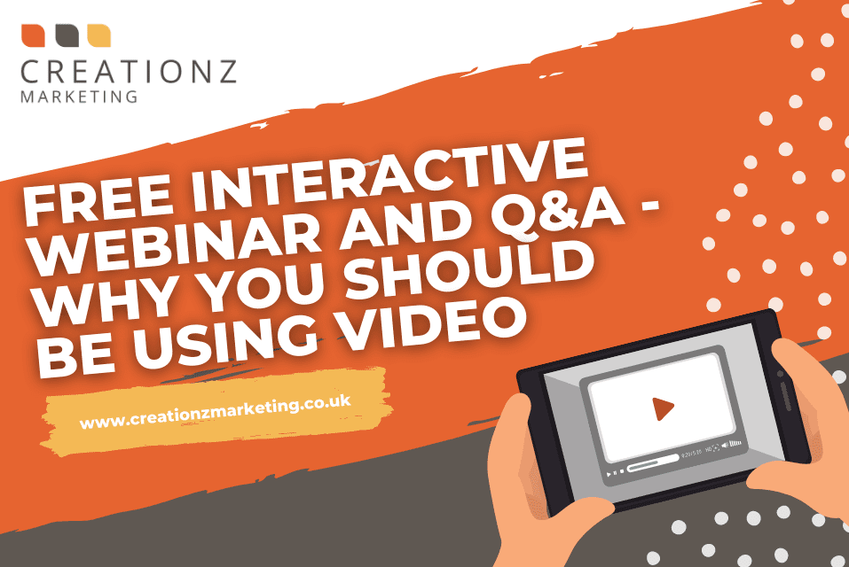 FREE Interactive Webinar and Q&A - Why You Should Be Using Video