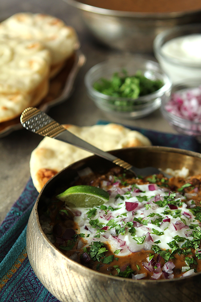 Dal Makhani - Indian Lentil Stew