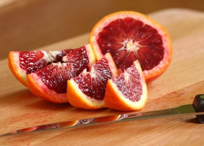 Quartered Blood Oranges