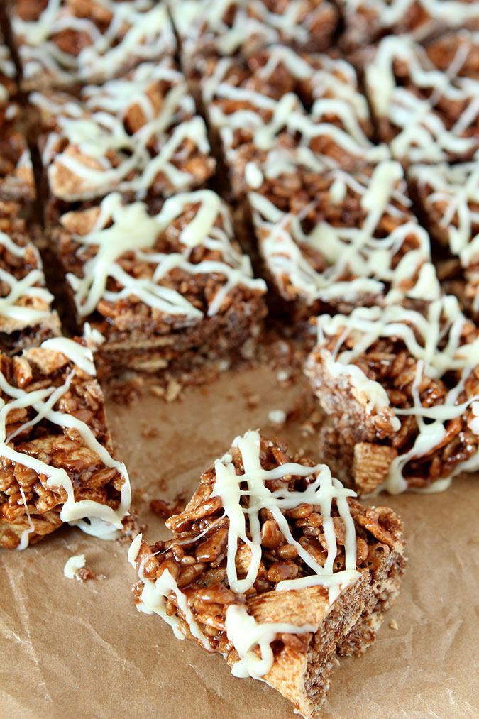 Cappucino Rice Krispie Treats