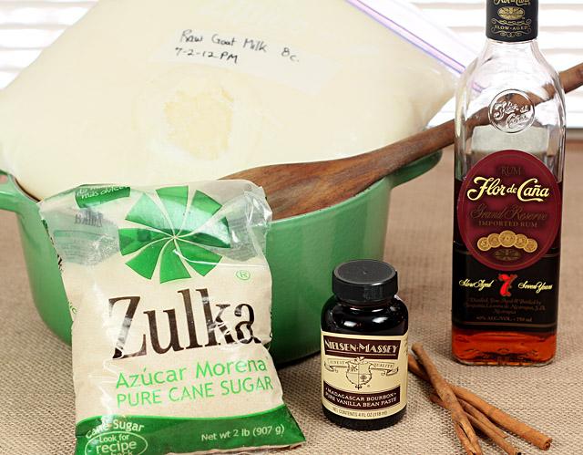 How to Make Cajeta - Goat Milk Caramel