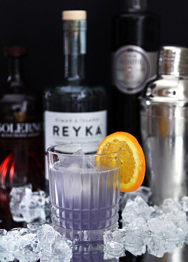 The Midnight Sun Cocktail