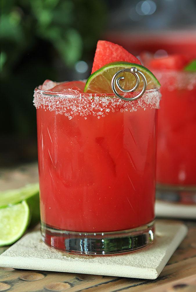 Fresh Watermelon Margarita