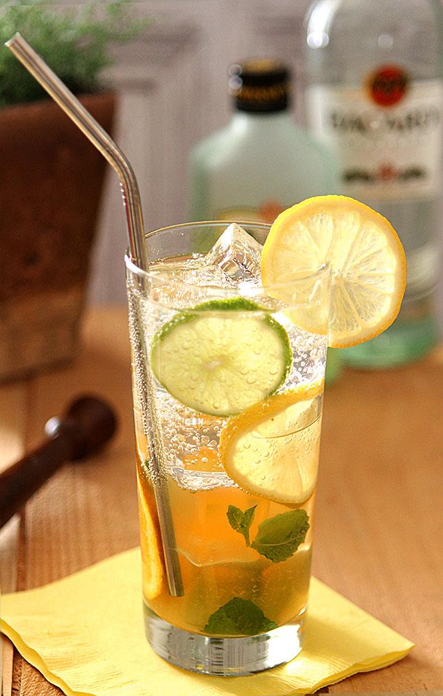 Winter Citrus Mojito - Creative-Culinary.com