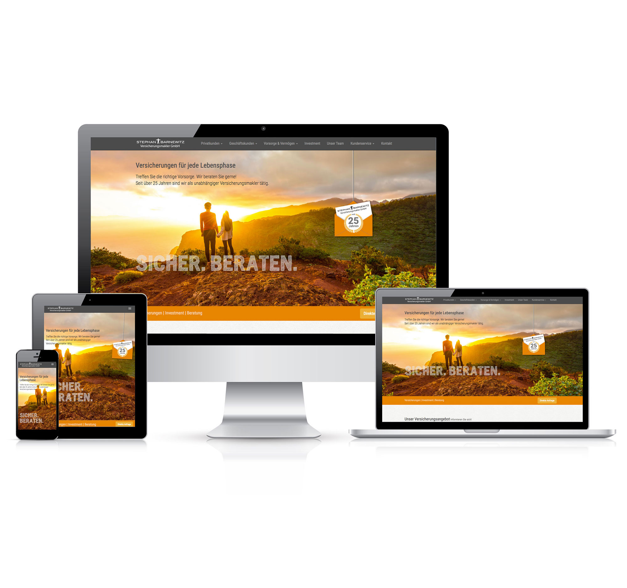 Webdesign |Stephan Barnewitz Versicherungsmakler GmbH