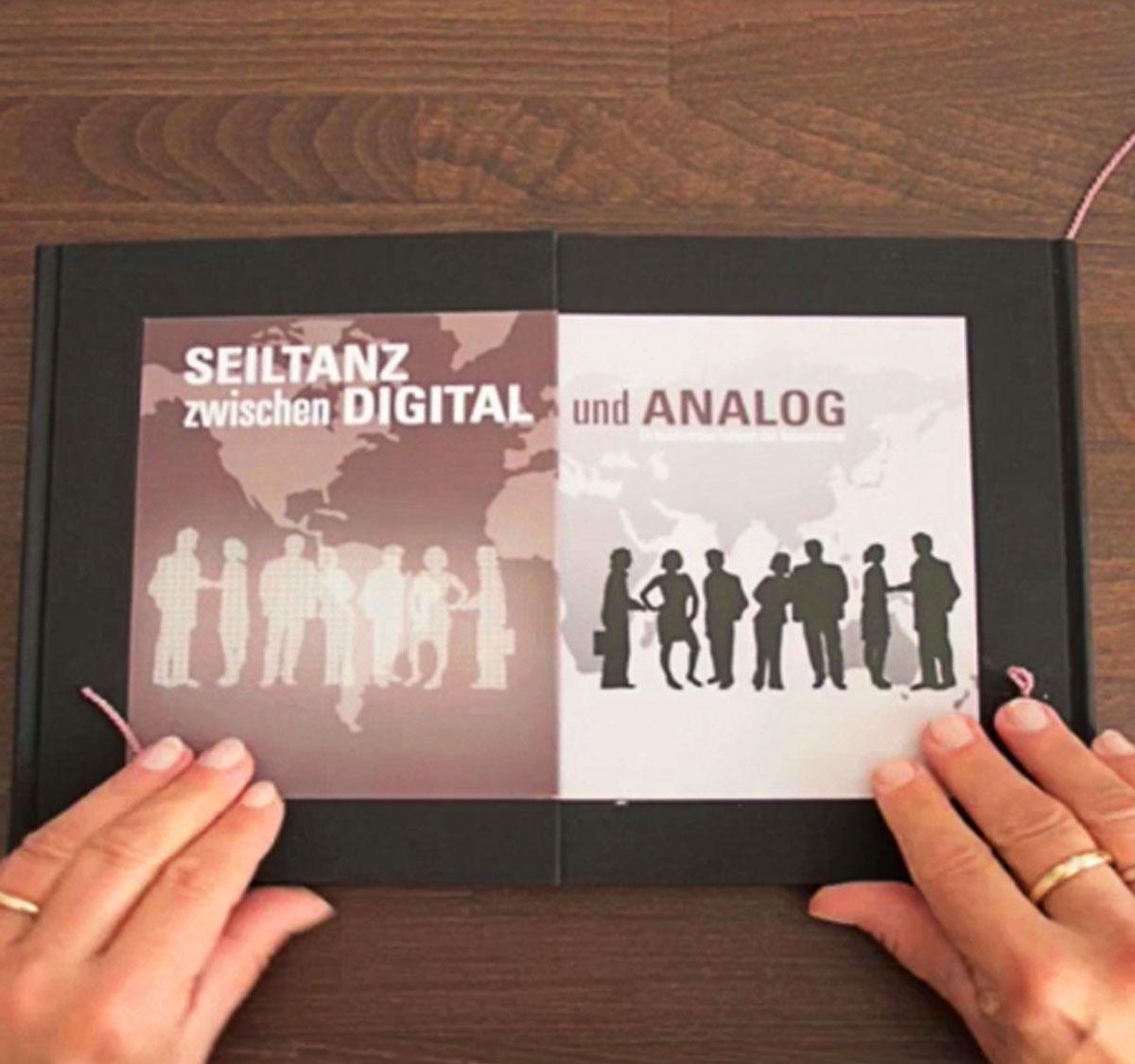 Buch |Seiltanz zwischen Digital und Analog