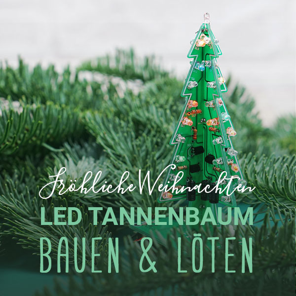 DIY   LED Tannenbaum zusammenbauen und löten