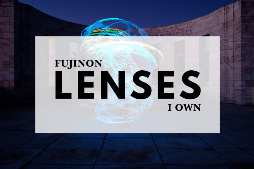 Fujinon lenses I own