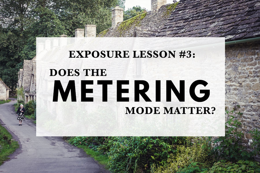 Does the metering mode matter?