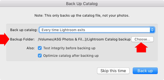 Lightroom Library module