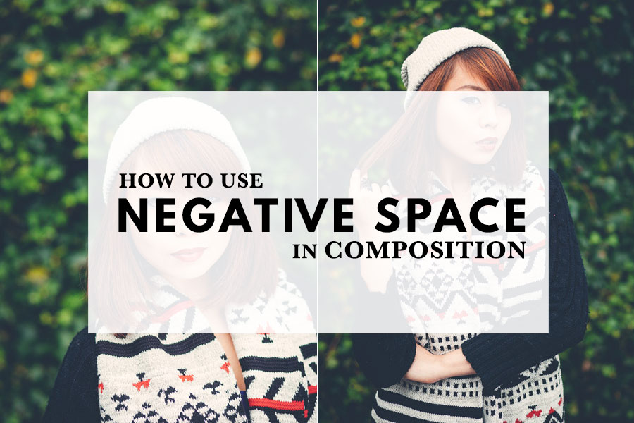 How to use negative space in composition