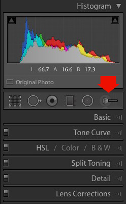 How to retouch portraits in Lightroom