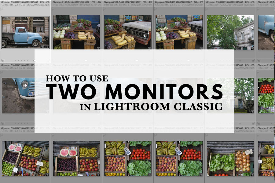 How To Use Two Monitors In Lightroom Classic