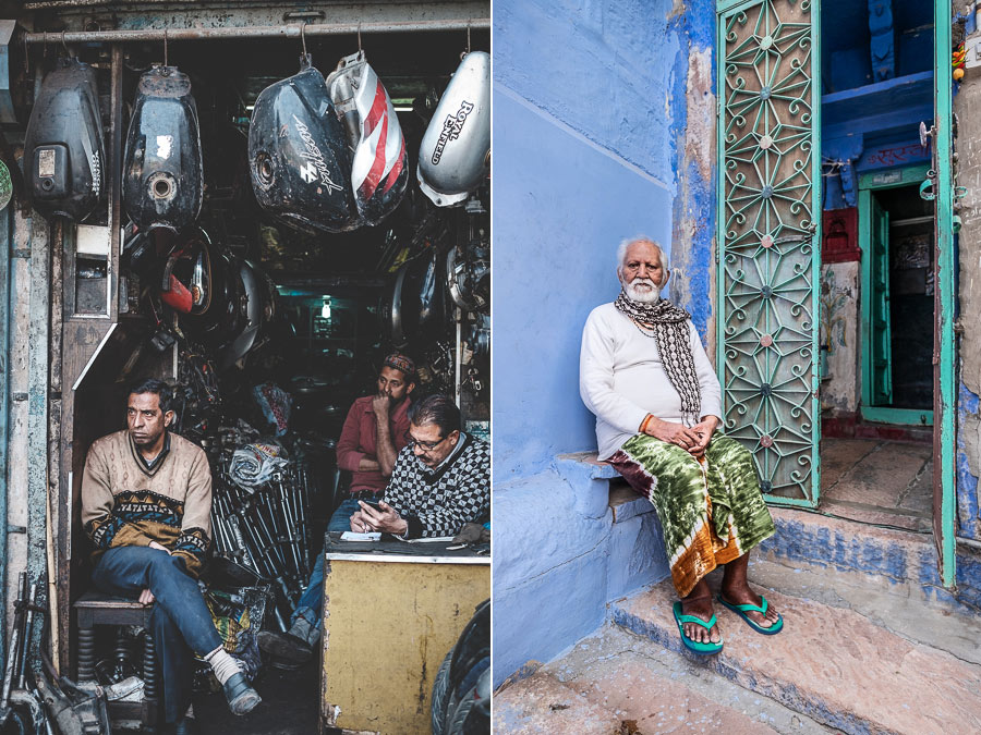 Photos made in India with 35mm and 14mm lenses
