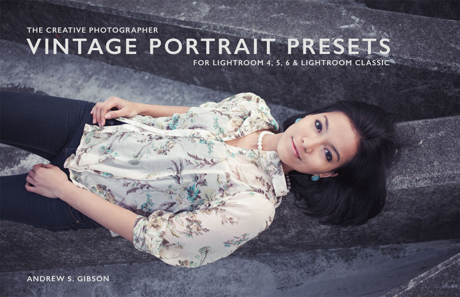 Vintage Portrait Presets for Lightroom