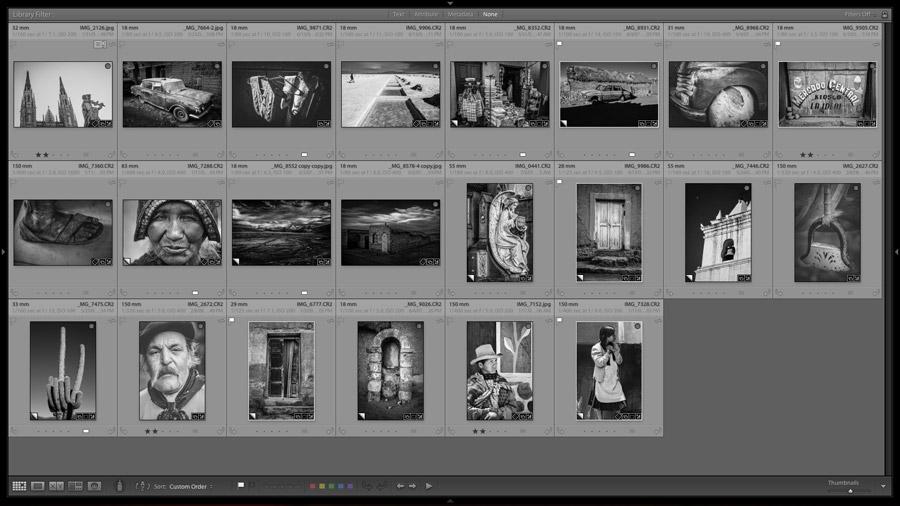 Photos ready for photo book