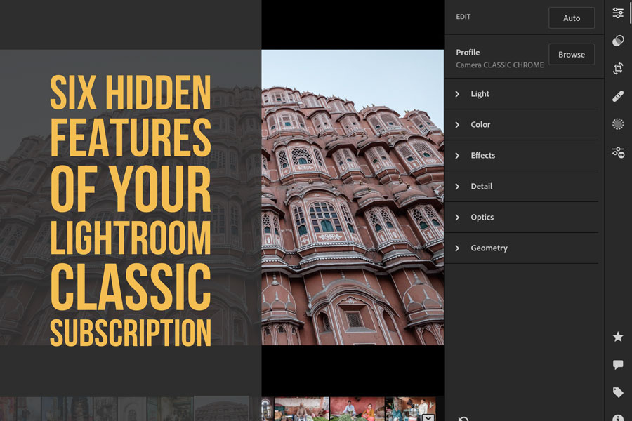 Six Hidden Features of Your Lightroom Classic Subscription